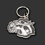 West Point Fighting Mule Key Chain