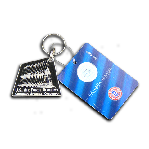US Air Force Academy chapel key chain