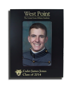 Sample of West Point Personalized Picture Frame